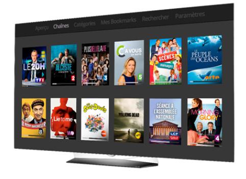 Le service Molotov.TV disponible pour le grand public dès le mois d'Octobre sur les TV LG