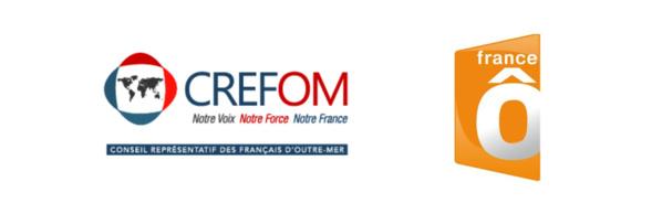 Logo CREFOM / France Ô