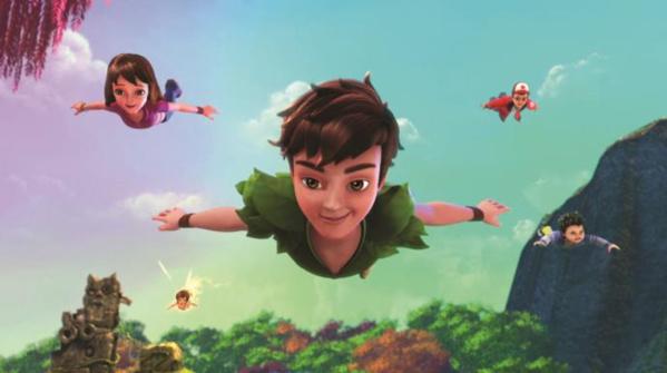 Peter Pan et ses amis © DQ Entertainment