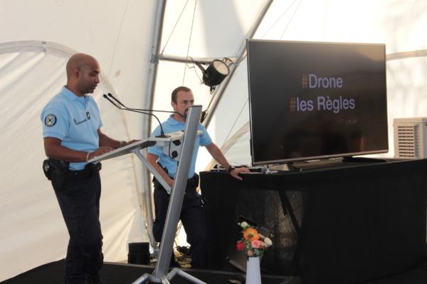 Orange Réunion sensibilise ses vendeurs aux règles de sécurité et à la réglementation des drones de loisirs