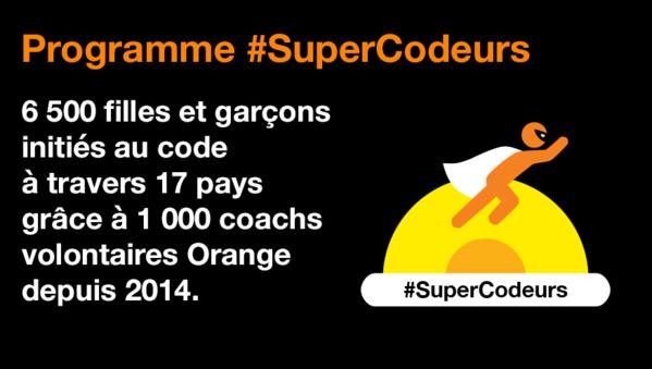 """Guadeloupe / Guyane / Réunion: Orange initie les enfants au code informatique avec """"supercodeurs"""""""