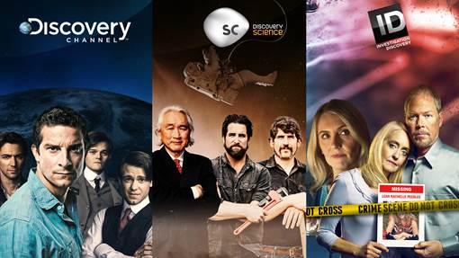 Les chaînes Discovery