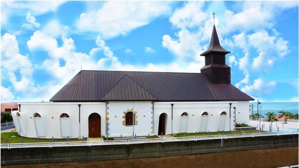 Nouvelle Paroisse de Sainte-Lucie © Mairie de Sainte-Lucie