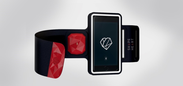 CES 2017: Shapeheart, le brassard qui connecte le smartphone au cœur des sportifs