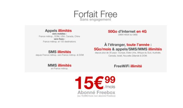 Free Mobile: Le Roaming désormais inclus toute l'année