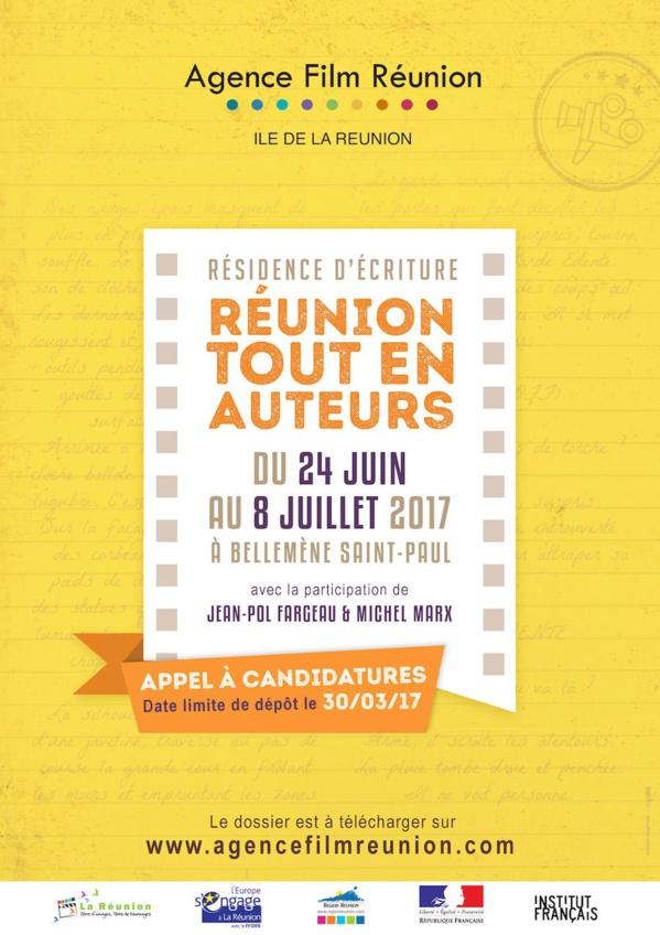 Résidence d'écriture: L'agence Film Réunion (AFR) lance un appel à candidatures