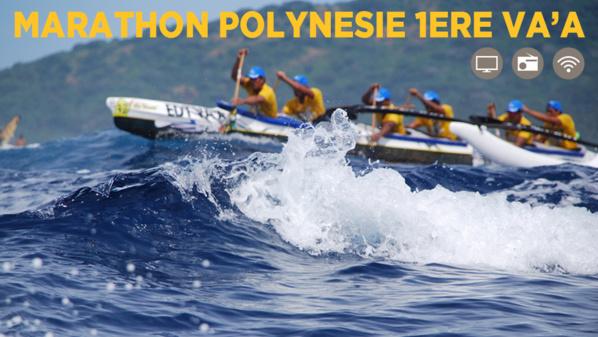 Marathon Polynésie 1ère Va'a
