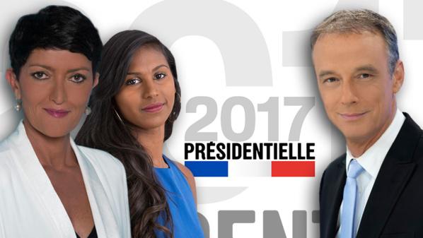 PRESIDENTIELLE 2017 – 1ER TOUR La rédaction TV de Réunion 1ère se mobilise