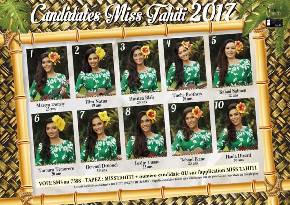 Cérémonie: Élection de Miss Tahiti en direct sur Polynésie 1ère et France Ô
