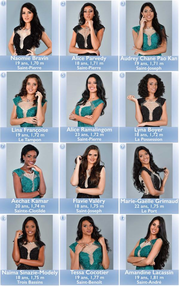 Élection de Miss Réunion 2017 en direct ce samedi sur Antenne Réunion