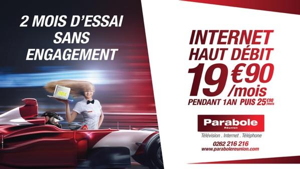 [Bon Plan]: L'offre Internet de Parabole Réunion à 19,90€ pendant 1 an