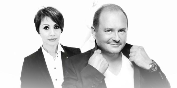 Angélique Payet et Sébastien Cauet