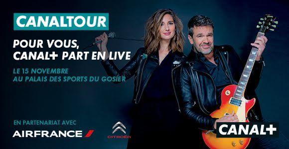 Canal+ Caraïbes organise une soirée CanalTour le 15 novembre au Palais de sport du Gosier