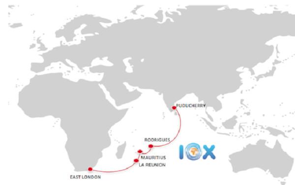Début des travaux sur le câble sous-marin IOX