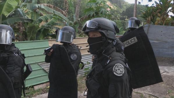 La police d'élite en Guadeloupe au programme d'Investigatiôns le 17 janvier sur France Ô