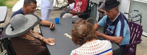 La vie en maison de retraite au programme de «Un jour avec...» ce vendredi dans le JT de Réunion La 1ère