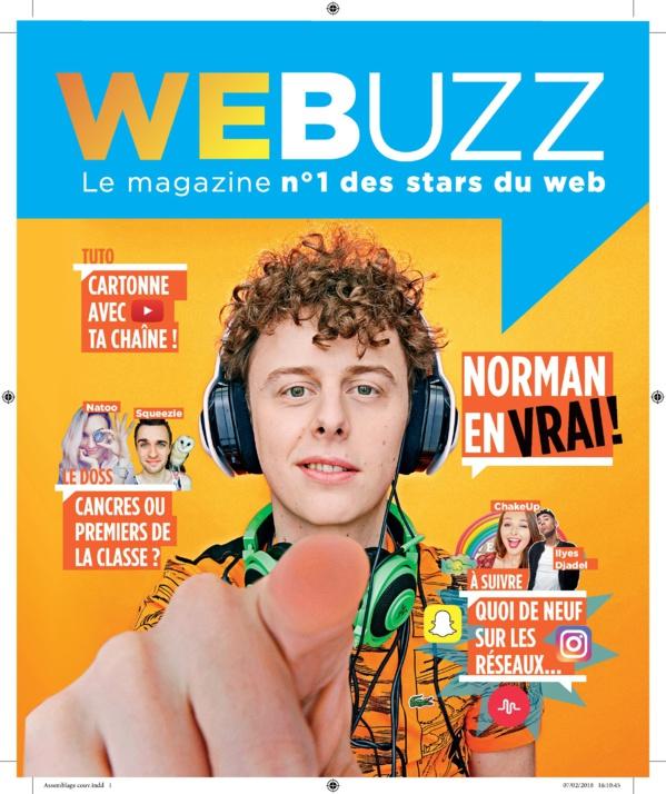 Lagardère Active lance aujourd'hui le magazine WEBUZZ, le premier magazine des stars du web