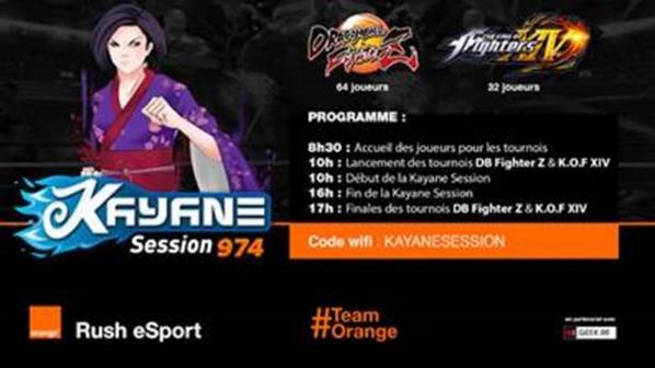 Orange Réunion partenaire de la «Kayane Session» le 23 et 24 Février 2018