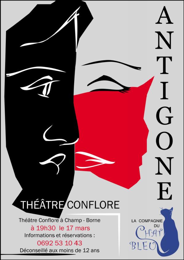 La compagnie du chat bleu présente sa dernière pièce de théâtre ANTIGONE