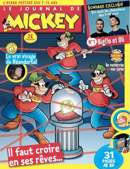 Sondage Journal de Mickey: Bigflo et Oli personnalités préférées des 7-14 ans