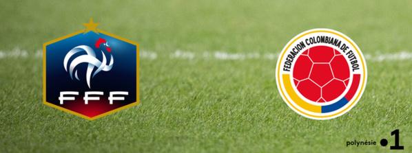 Match amical: France / Colombie en direct sur TMC et les chaînes La 1ère