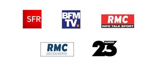 SFR, BFMTV, RMC, RMC Découverte et NUMERO 23: partenaires télécoms et médias du Sidaction