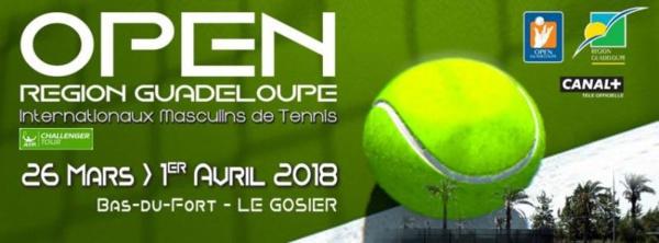 Tennis / Open de Guadeloupe: Les finales en direct sur le Canal Outremer de Canal+