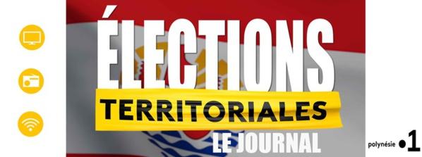 """""""Le journal des élections"""" sur les 3 antennes de Polynésie la 1ère"""