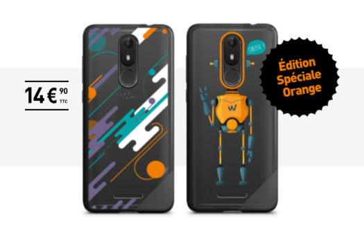 Wiko annonce l'arrivée du nouveau smartphone View Lite en avant-première (jusqu'au 15 mai) chez Orange et Sosh, ainsi que le lancement de la coque de protection View Lite Edition Spéciale Orange.