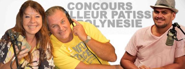 Polynésie La 1ère Radio présente son dispositif pour le Concours du meilleur patissier de Polynésie