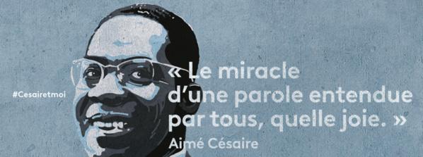 Hommage à Aimé Césaire sur France Ô et sur les chaînes La 1ère
