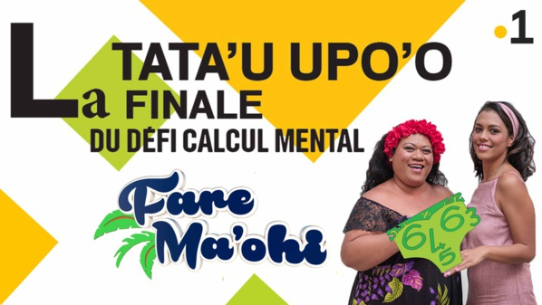 Polynésie la 1ère: Fare Ma'ohi retourne sur les bancs de l'école pour la finale du défi Calcul mental 2018