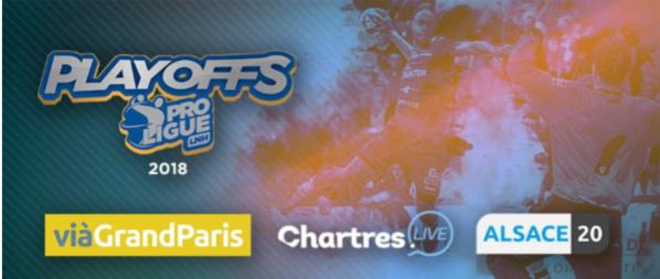 Les playoffs de Proligue diffusés en clair sur Alsace20 et ViàGrandParis
