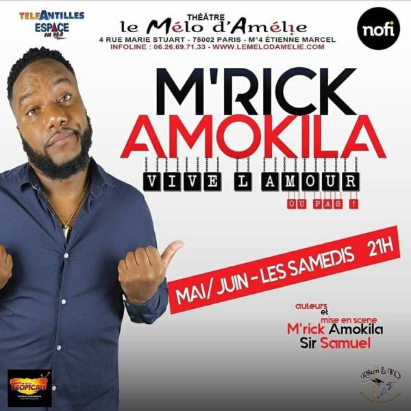 L'Antillo-Guyanais M'Rick Amokila rend hommage à la mère créole