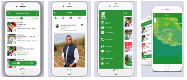 Eloléo l'application de circuit court et en temps réel, entre producteurs locaux et consommateurs de proximité