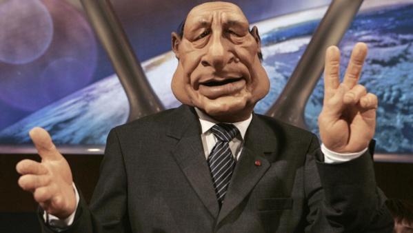 Marionnette de Jacques Chirac © AFP