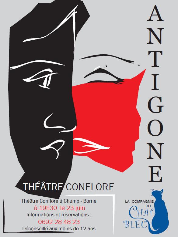 Théâtre: La compagnie du chat bleu présente sa dernière création ANTIGONE