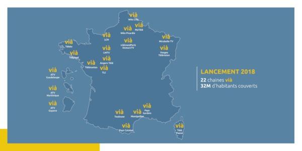 Vingt-deux télévisions locales dont les chaînes ATV joignent leurs forces au sein du Réseau Vià