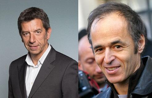 Michel Cymes et Jean-Jacques Goldman