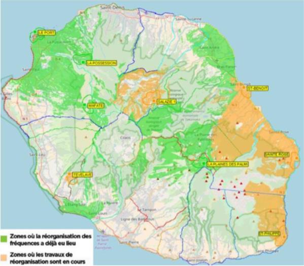 TNT: 85% de la population a de nouveau accès aux chaînes à la Réunion