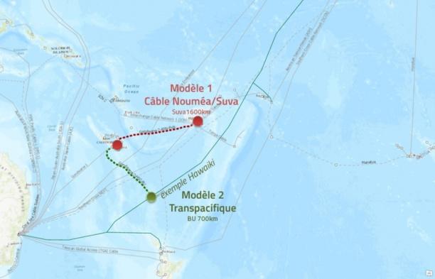 Kanawa, le nouveau câble sous-marin en fibre optique des Antilles-Guyane