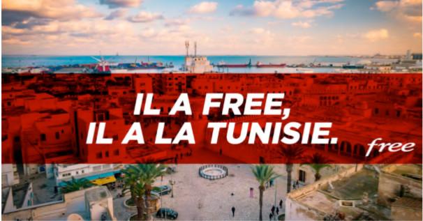 Forfait Free : la Tunisie incluse dans les 25Go/mois de data en roaming
