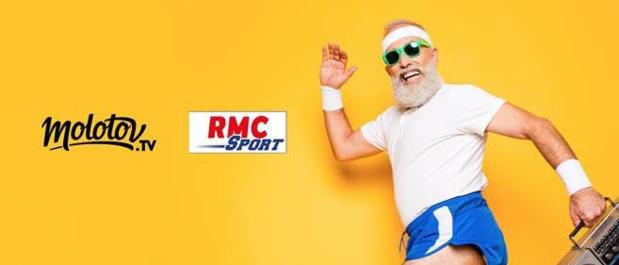 Molotov: Arrivée des chaînes RMC Sport ce jeudi pour 18,99€/mois