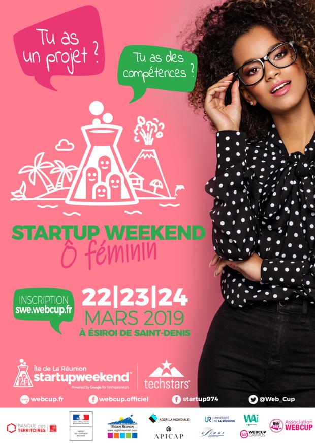 """Association WebCup: Ouverture des inscriptions du Startupweekend """"O"""" Féminin"""