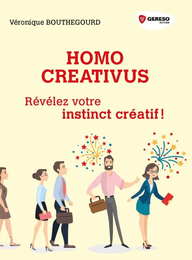 """Révélez son instinct créatif avec """"Homo Créativus"""" de Véronique BOUTHEGOURD"""