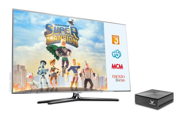 Partenariat entre Videofutur et Lagardère Active: Arrivée de MCM, Canal J, TiJi et Mezzo Live HD