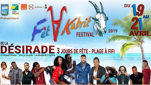 Guadeloupe La 1ère au Festival Fèt A Kabrit du 19 au 21 avril