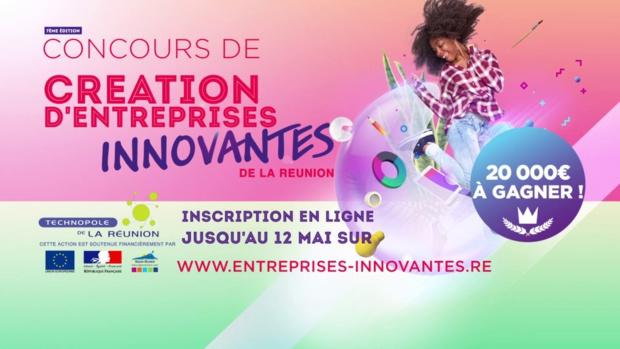 Création d'Entreprises Innovantes de La Réunion: Lancement du concours le 15 avril