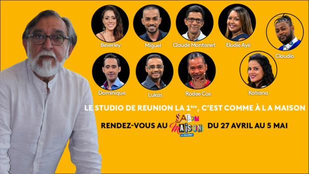 Réunion La 1ère installe ses studios au Salon de la maison
