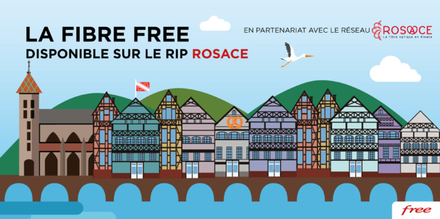 La Fibre Free disponible sur le RIP Rosace